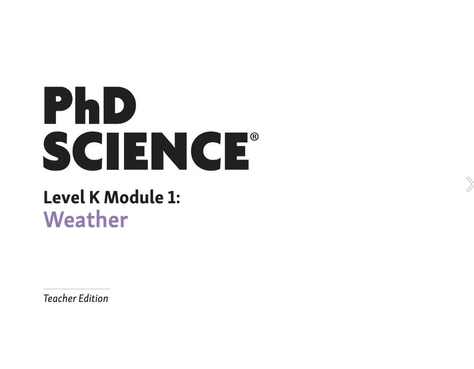 PhD Science K–2 OER